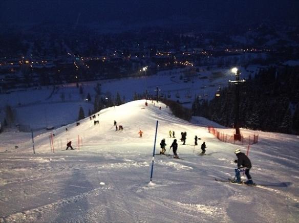 Steamboat Springs night slalom 21 Dec