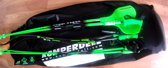 Ski poles from Komperdell for Christmas