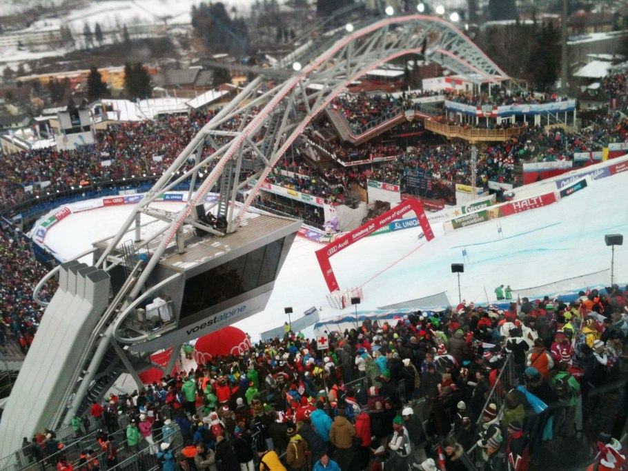 Schladming finish area