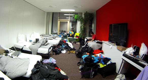 Interesting room set up in Hinterstoder..