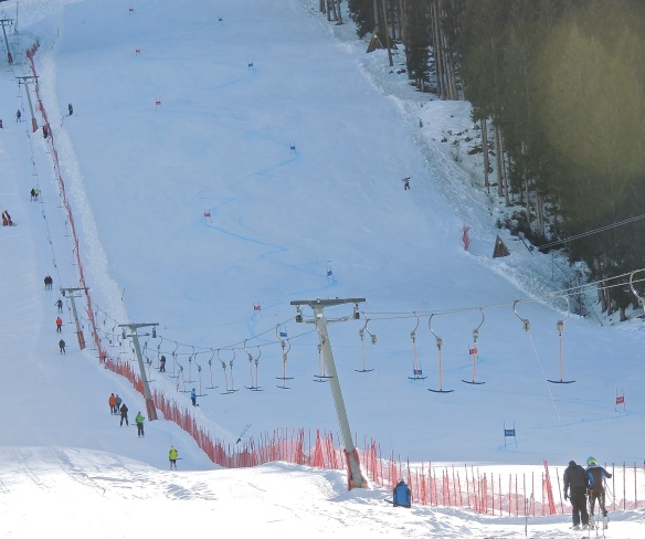 training slope at hinterreit