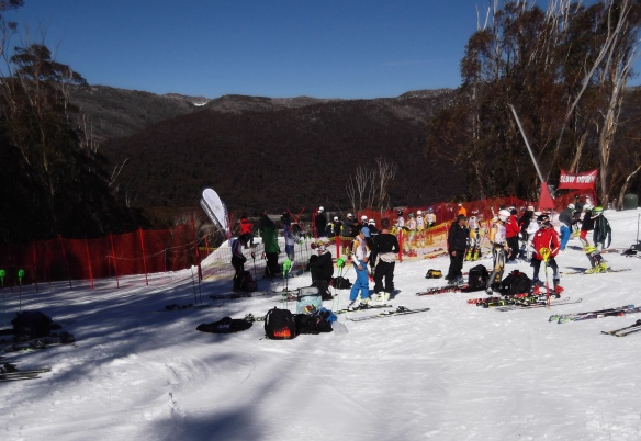 Thredbo start area
