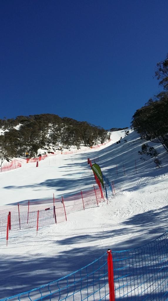 slalom race Hotham