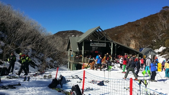 Snake Gully Hut, Hotham