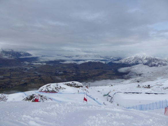 Coronet Peak GS race