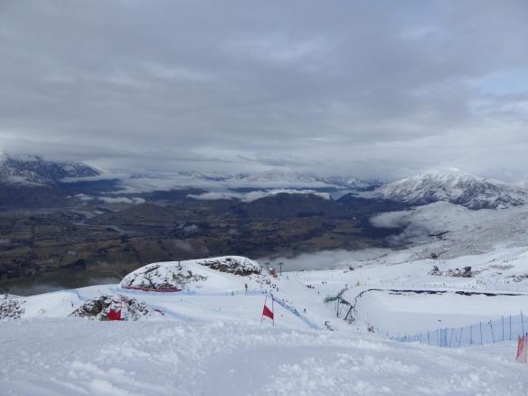Coronet Peak GS race