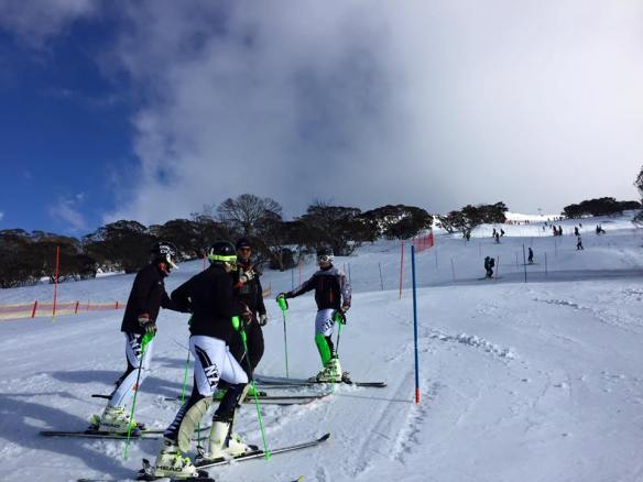 slalom perisher 22 aug 2014