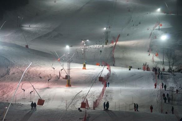 Night slalom, Schwende