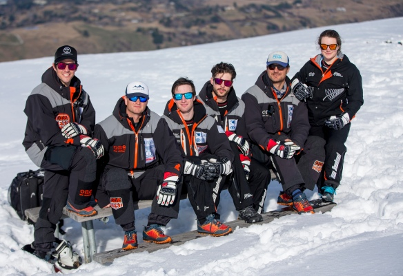 Coberger Academy, NZ Ski Team . Pic Michael Thomas