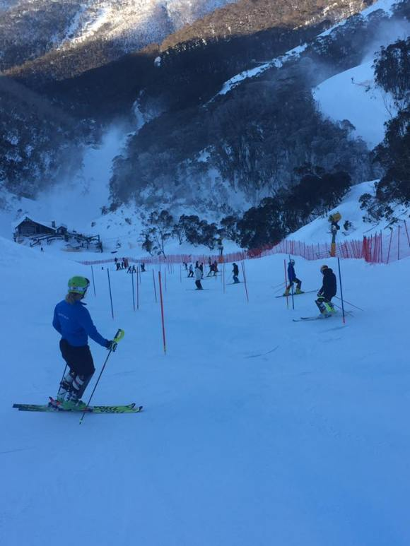SL course inspection Mt Hotham