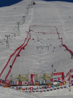 Slalom at Zuoz