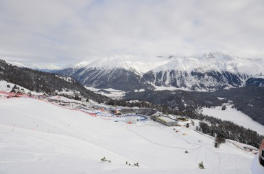 St Moritz race hill