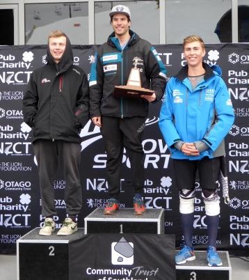 Slalom title