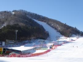 Training at Yongpyong
