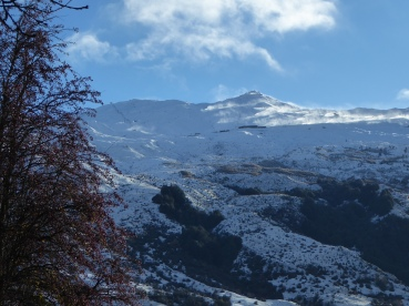 Coronet peak early snow
