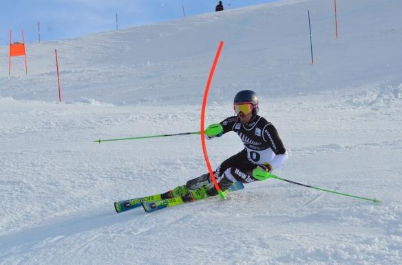 Slalom racing, Coronet Peak